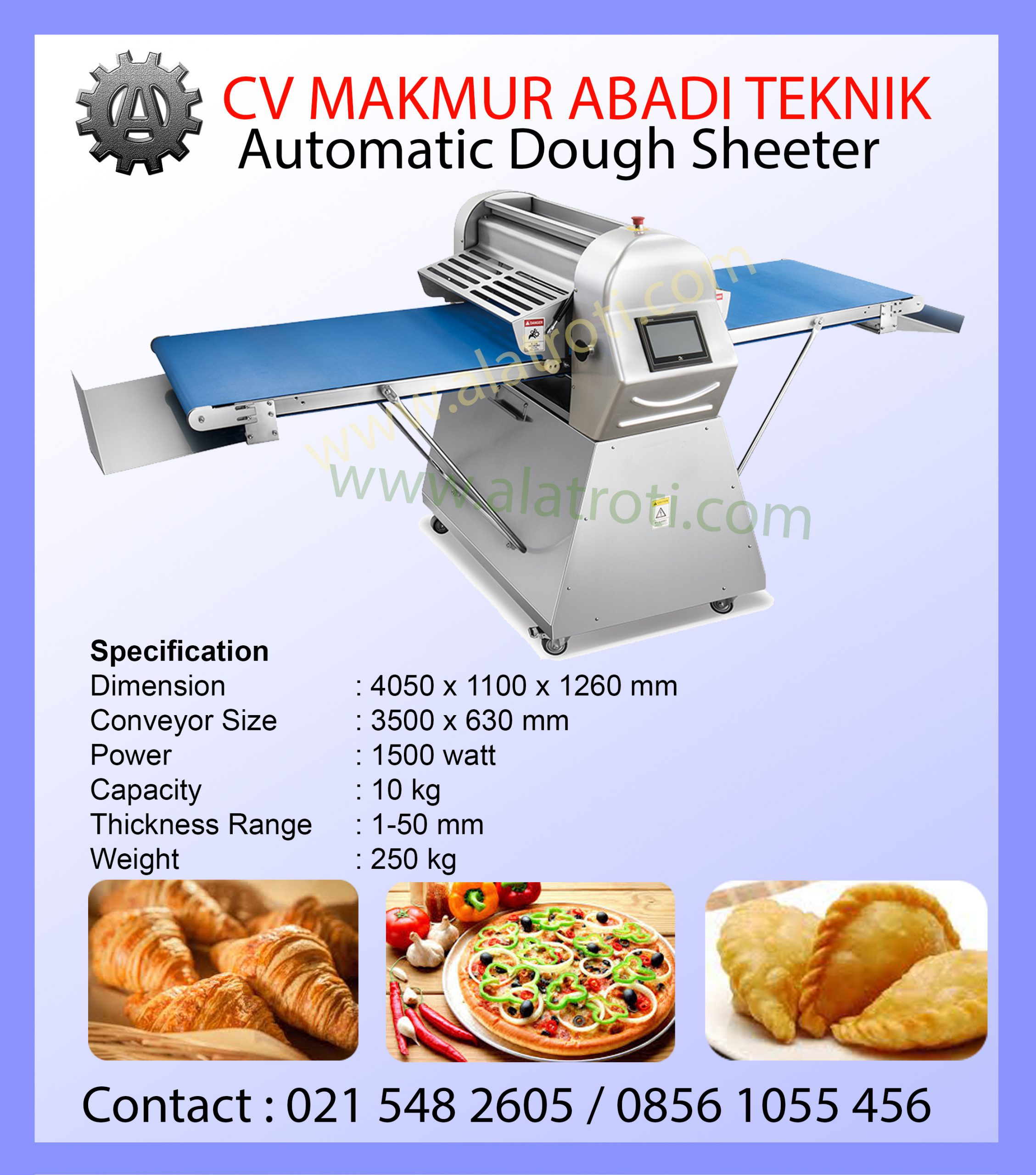Automatic Dough Sheeter
