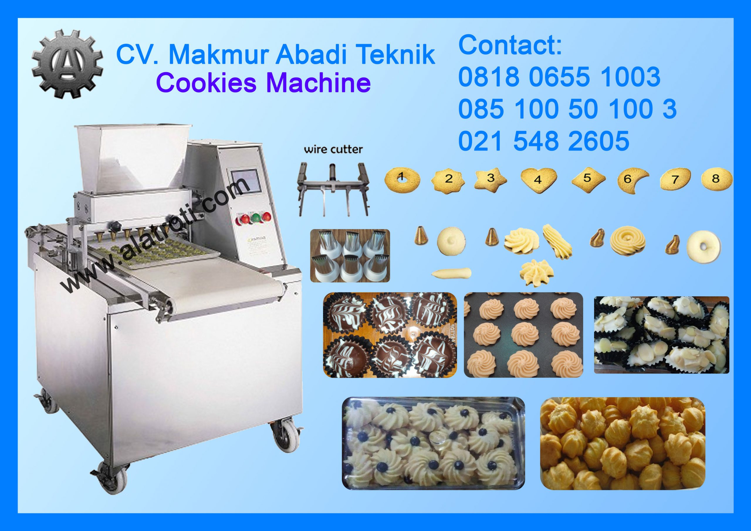Mesin Kue Semprit Cookies Machine